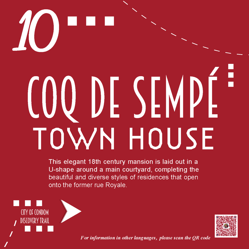 10 - Private Mansion of Coq de Sempé
