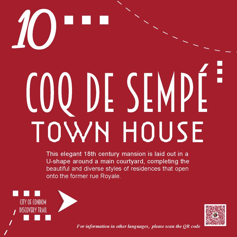 10 - Private Mansion of Coq de Sempé