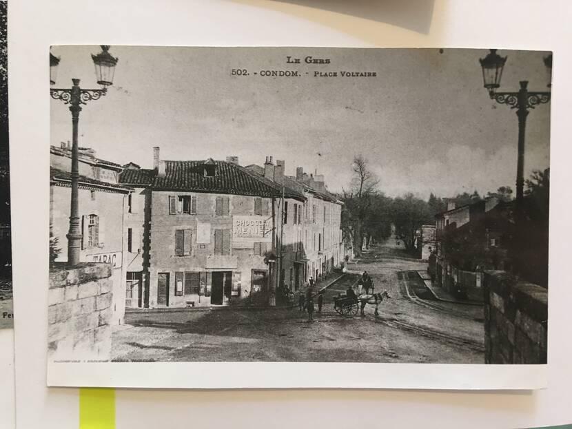 Place du Souvenir - Old photo Fenestra