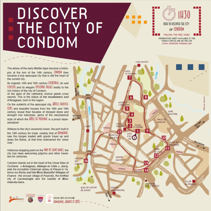 Discover the city of Condom